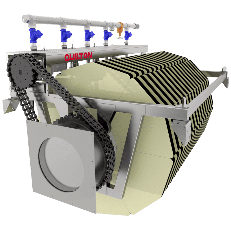 filtro textil terciario