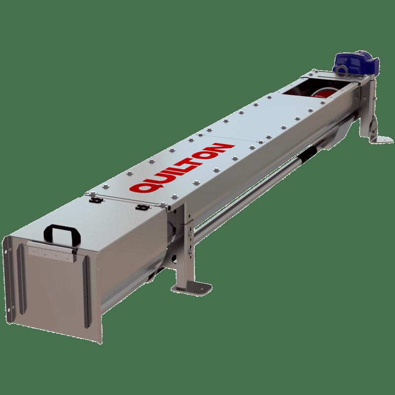 Tornillo transportador compactador